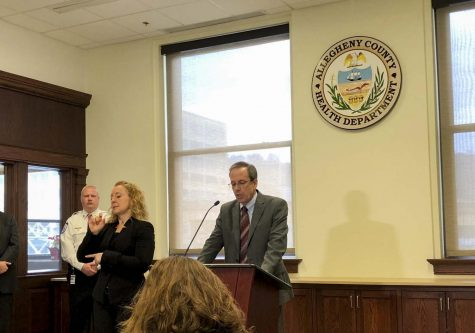 Health department holds coronavirus press conference