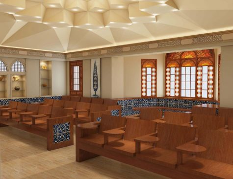 The Finnish and Iranian (pictured) Nationality Rooms are in the fundraising process and will be coming to the Cathedral within the next few years.