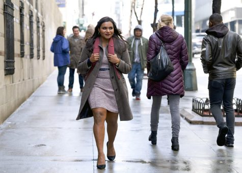 Mindy Kaling plays novice comedy writer Molly Patel in a scene from