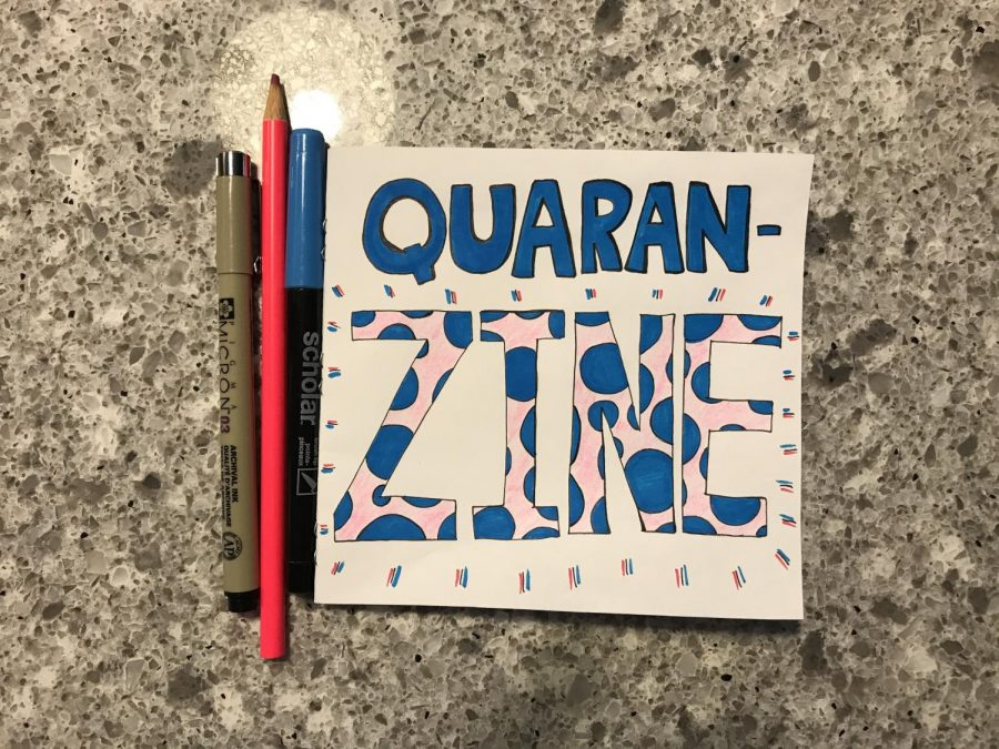 Creative Corner | How to make your own quaran-zine