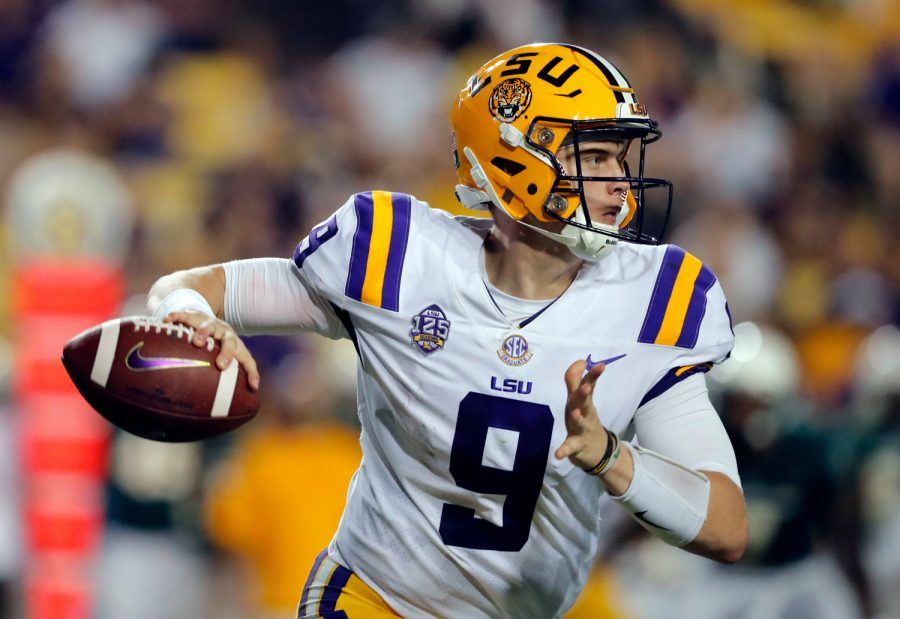 +LSU%E2%80%99s+Heisman-winning+quarterback+Joe+Burrow+will+likely+be+claimed+as+the+first+overall+pick+in+the+2020+NFL+Draft.%0A