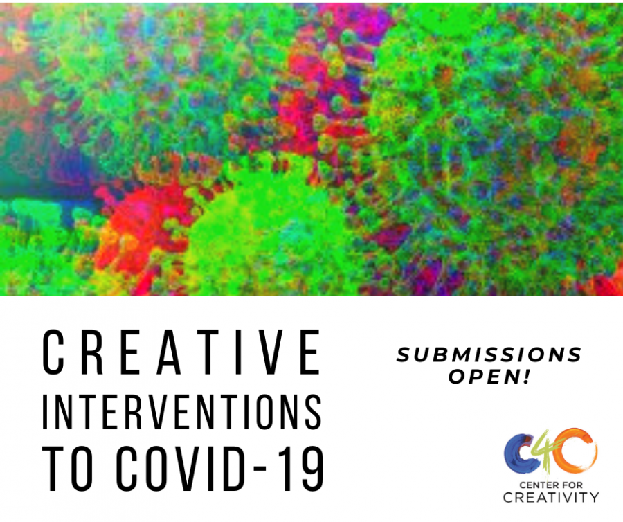 Members+of+the+Pitt+community+are+invited+to+submit+art+from+any+medium+designed+as+a+creative+response+to+the+public+health+discussions+surrounding+the+COVID-19+pandemic.+Image+via+Center+for+Creativity.+