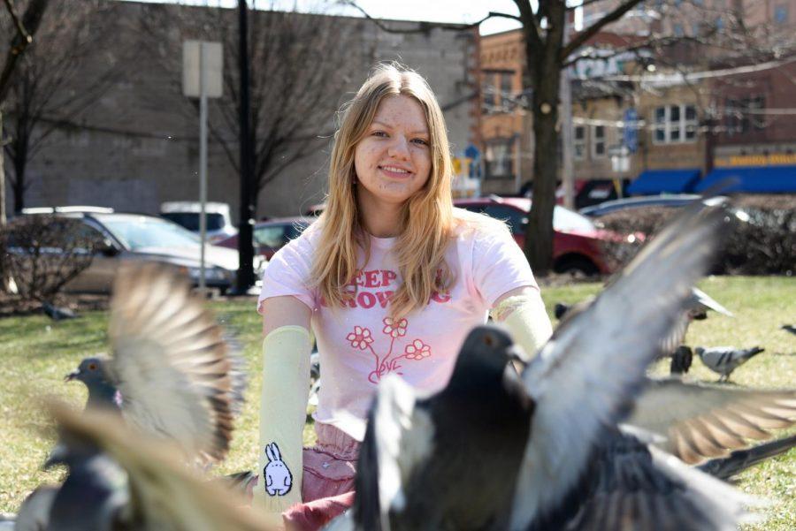 Melinda Shehee's pigeon army