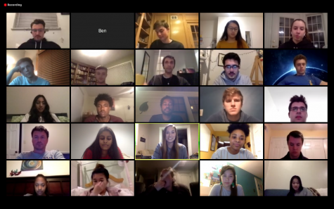 The 2019-20 Student Government Board confirmed next year's board members via Zoom in their last meeting of the academic year.