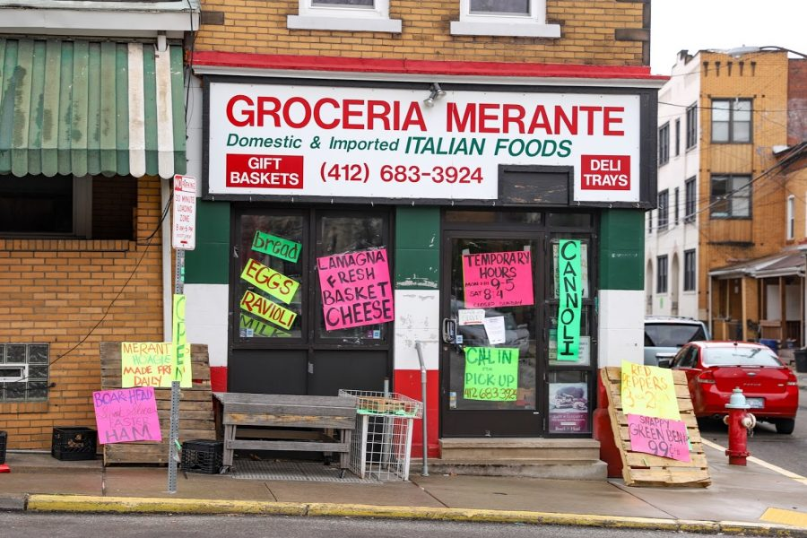 Groceria Merante and several other Oakland businesses have altered their hours and store practices due to the COVID-19 pandemic.