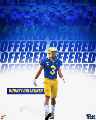 Rodney Gallagher receives Pitt football offer