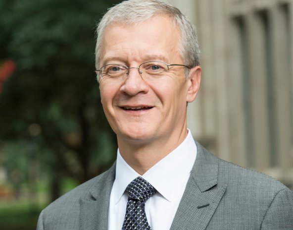 David DeJong, the acting senior vice chancellor for business operations and vice chancellor for human resources, leads Pitt's employee and operations task force.