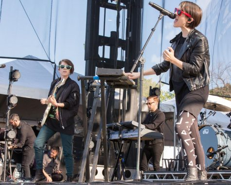 When not onstage singing, Tegan and Sara Quin use their voices to advocate for LGBTQ+ equality, as well as other human rights movements.