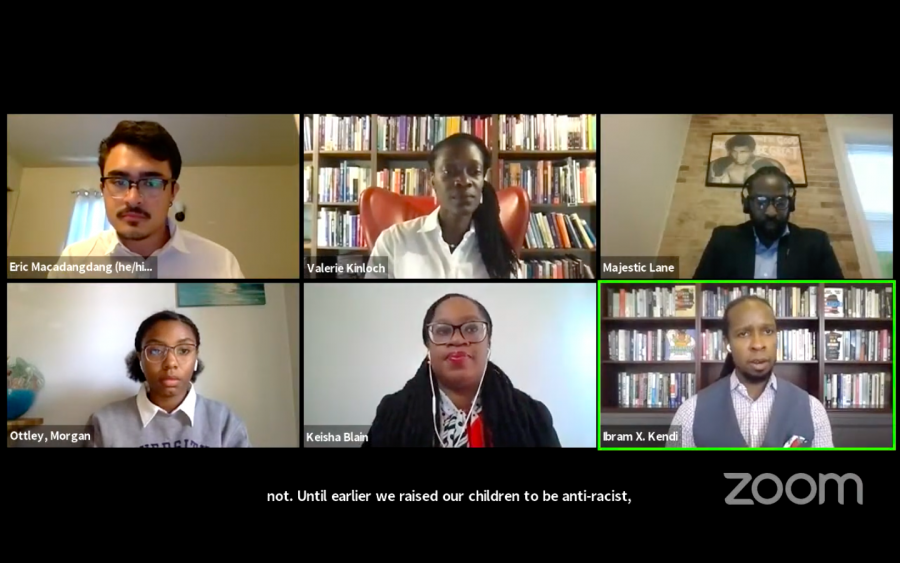 'Allow us the space to be Black': Diversity forum talks anti-racism with Ibram Kendi
