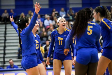 The Pitt women's volleyball team is one of Pitt's best sports teams.
