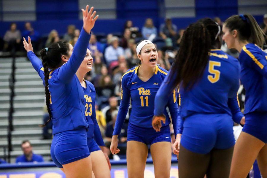 The Pitt women's volleyball team is one of Pitt's best sports teams.