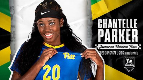 Canadian striker Chantelle Parker joins the 2020 Pitt women's soccer team.