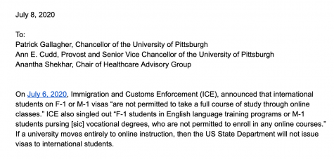 More than 1,000 people sign letter urging University action against ICE guidance