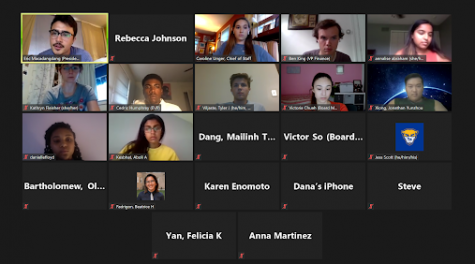 Student Government Board held a virtual Town Hall on Thursday.