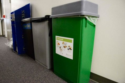 Recycling and composting help to divert waste from landfills.