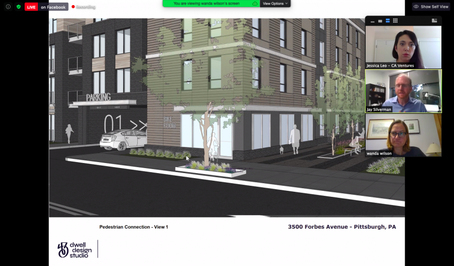An Oakland-wide community meeting Tuesday night provided updates on a new proposed development along Forbes Avenue.