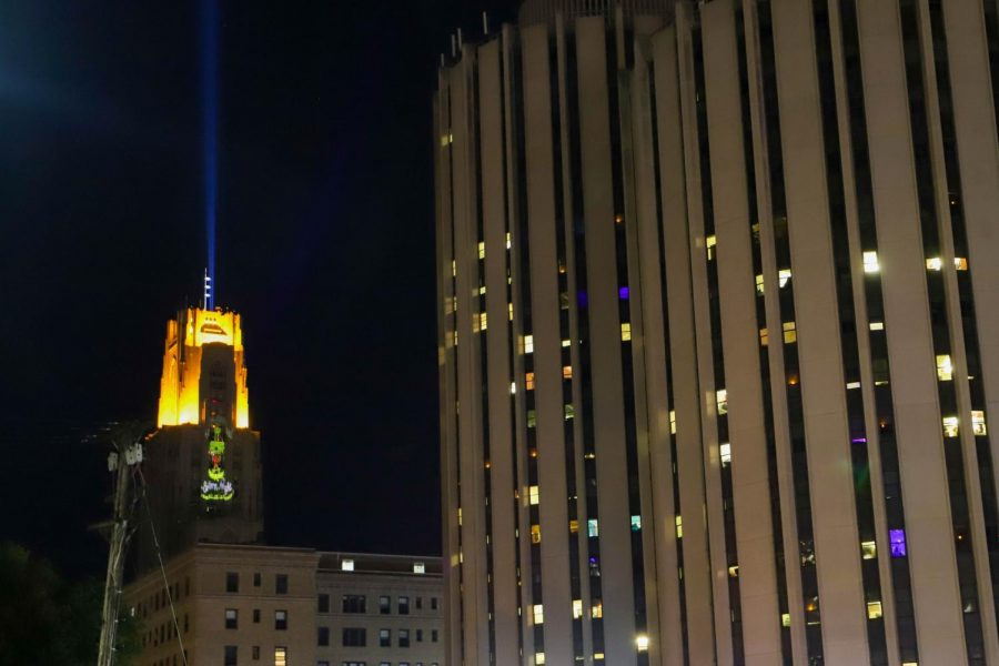 First-year+students+were+given+LED+lanterns+to+display+in+their+windows+to+celebrate+the+100th+annual+Lantern+Night.+