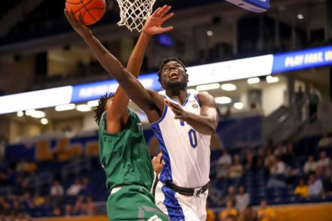 Former Pitt men's basketball player Eric Hamilton has signed with British professional team Cheshire Phoenix, the team announced Tuesday.