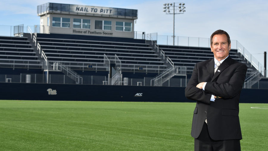 After+parting+ways+with+former+women%E2%80%99s+soccer+coach+Greg+Miller%2C+Athletic+Director+Heather+Lyke+hired+former+Notre+Dame+head+coach+and+two-time+national+champion+Randy+Waldrum.+