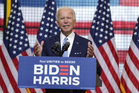 Joe Biden visited Pittsburgh on Monday afternoon and spoke in the City