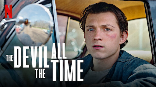 """""""The Devil All the Time,"""" now streaming on Netflix, is directed by Antonio Campos and based on Donald Ray Pollock's 2011 novel of the same name."""