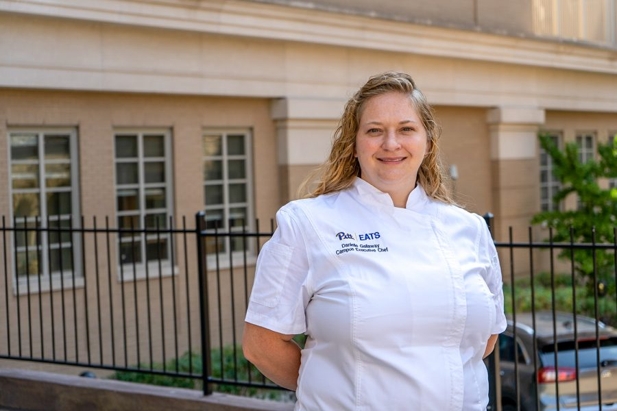 Danielle Gallaway is senior executive chef for Compass Group, Pitt's new dining contractor.