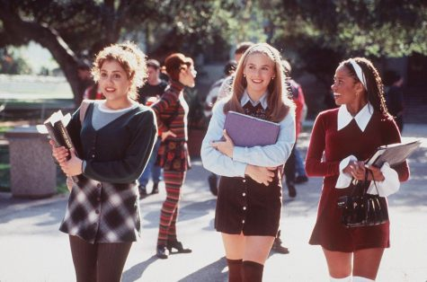 "From left, Brittany Murphy, Alicia Silverstone and Stacey Dash in ""Clueless."""