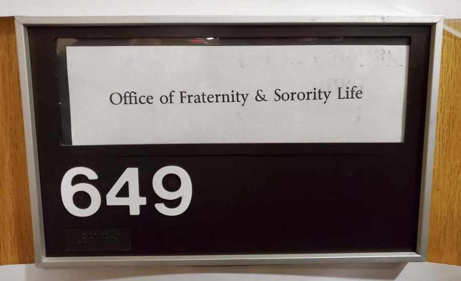 Active fraternities and sororities have been conducting virtual recruitment this year.
