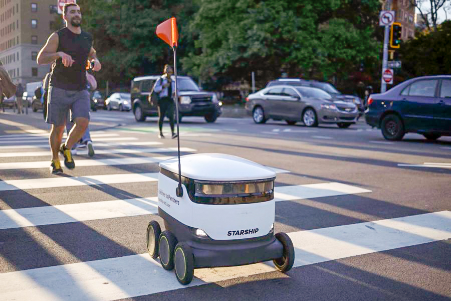 Starship's food delivery robots, which roamed campus last school year, have been mysteriously missing from campus.