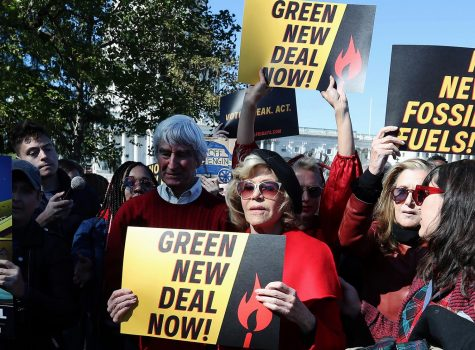 The Green New Deal is proposed legislation that focuses on climate change and reducing economic inequality.