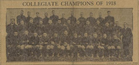 Pitt's 1918 football team won the national championship amid the Spanish flu pandemic.