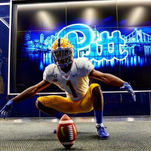 Wide receiver Myles Alston is the newest addition to Pitt's 2021 recruiting class.
