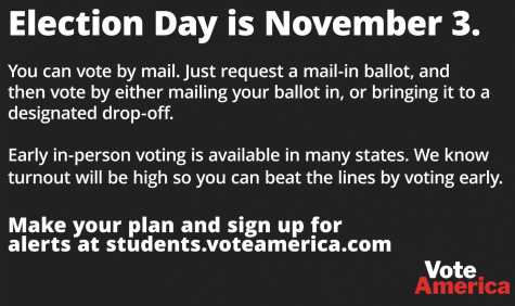 There will be record voter turnout this year. Vote early!