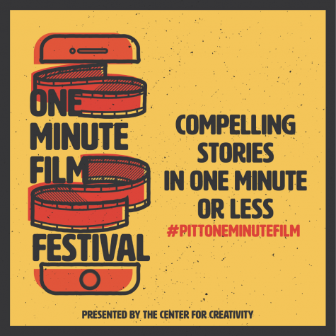 The Center for Creativity is hosting its first One Minute Film Festival, a competition designed to get Pitt students to create films of 60 seconds or less.