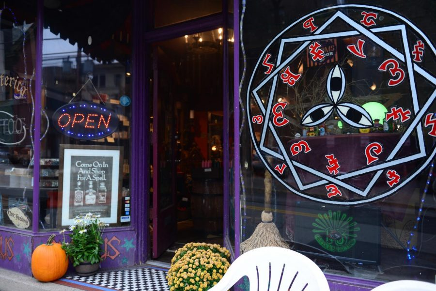 Hocus Pocus, located on Meyran Avenue, claims to be the oldest occult store in Pittsburgh, having opened 22 years ago.