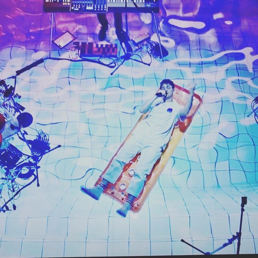 The Oxford quartet Glass Animals put on a live show through a custom-built livestreaming platform on Thursday.