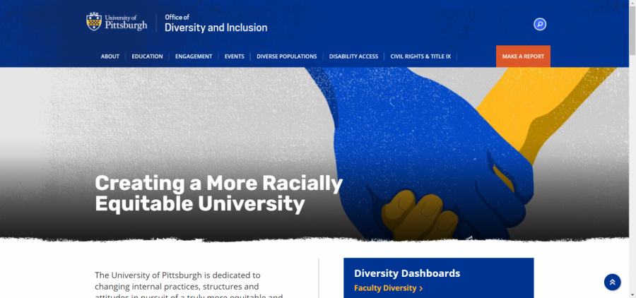 The Office of Diversity and Inclusion released a new social justice website in late September.