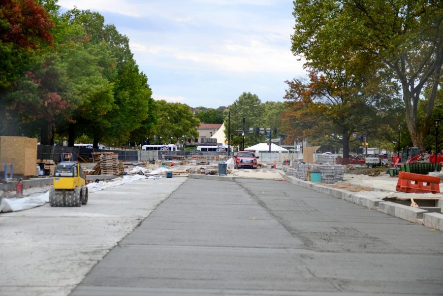 Parts of Bigelow Boulevard will reopen on Saturday as the University's massive construction project moves into its fourth phase.