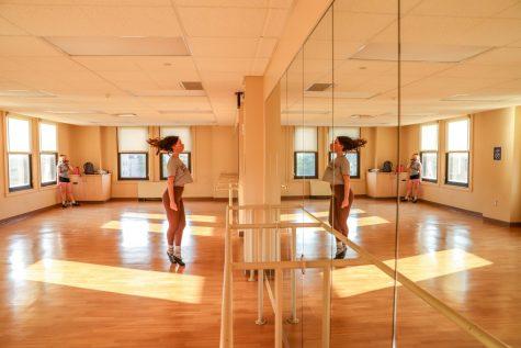 Pitt Irish dance club met in person on Tuesday evening in the William Pitt Union fitness center.