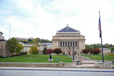 Soldiers and Sailors Memorial Hall is one of the largest polling locations in Allegheny County.