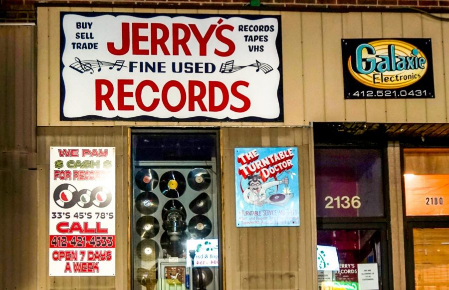 Jerry's Records in Squirrel Hill.