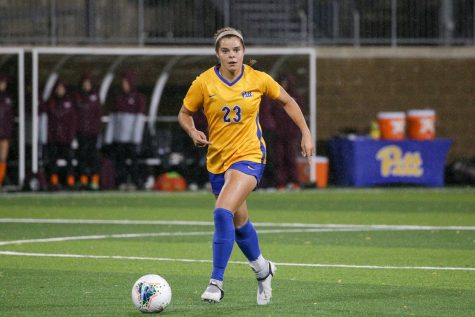 Dixon Veltri moved back to her hometown of Pittsburgh and joined Pitt's women's soccer team after transferring from University of North Carolina Wilmington.