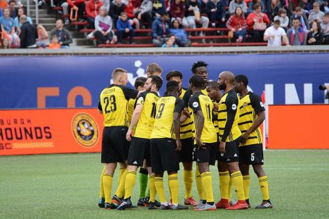 The Riverhounds, a soccer club that plays on the bank of the Monongahela, are Pittsburgh's fourth professional sports team. Hayden Schiff | Wikimedia Commons