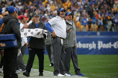 Football head coach Pat Narduzzi, is in his sixth year as a head coach at Pitt.