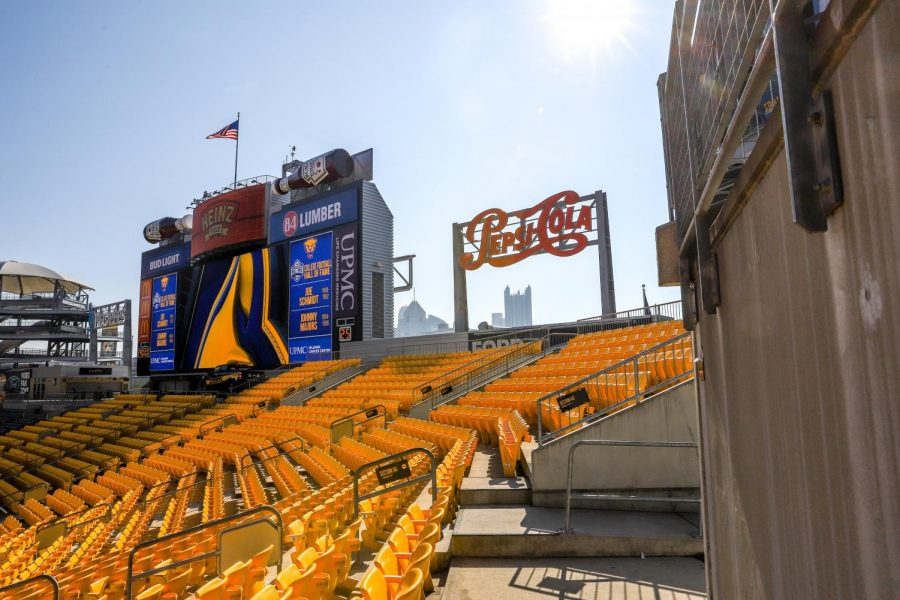 Heinz+Field+will+welcome+1%2C000+fans+for+the+coming+Oct.+24+home+game+following+four+straight+home+games+amid+empty+stands.+