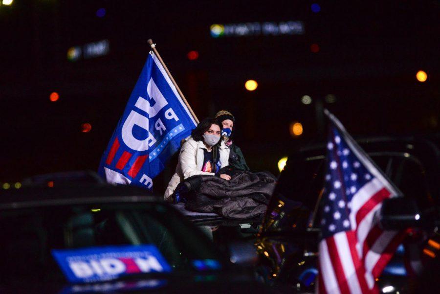 Photos: Biden campaigns outside Heinz Field