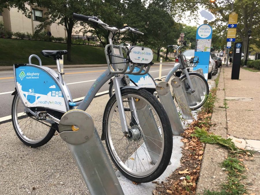 Healthy+Ride+bikes+on+O%27Hara+Street.