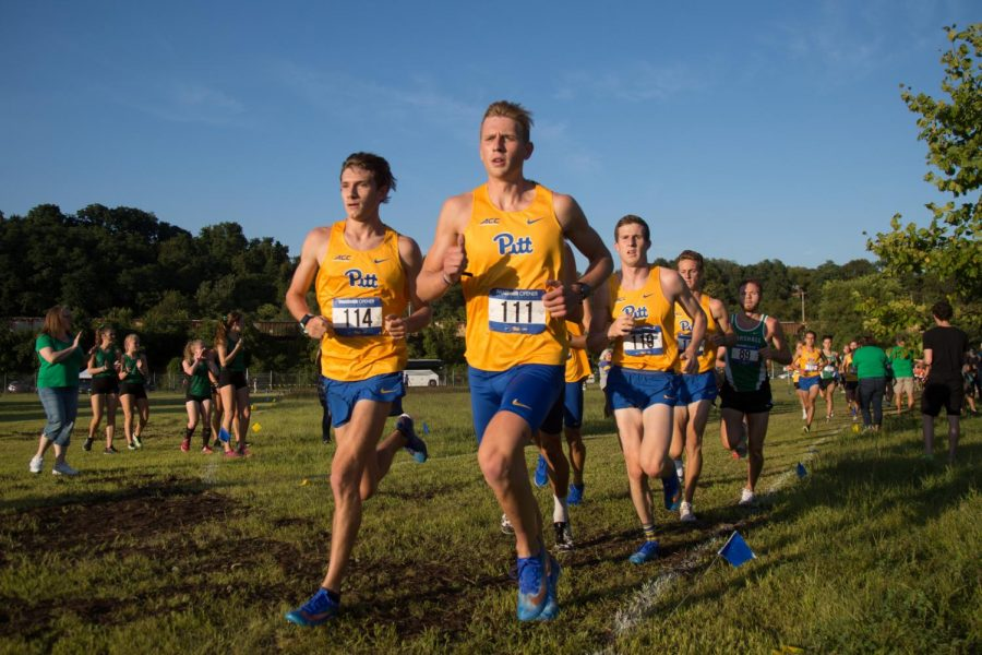 Pitt wrapped up its fall cross country slate on Friday, competing in the ACC Championship meet in Cary, N.C. Photo from a home meet in September 2019.