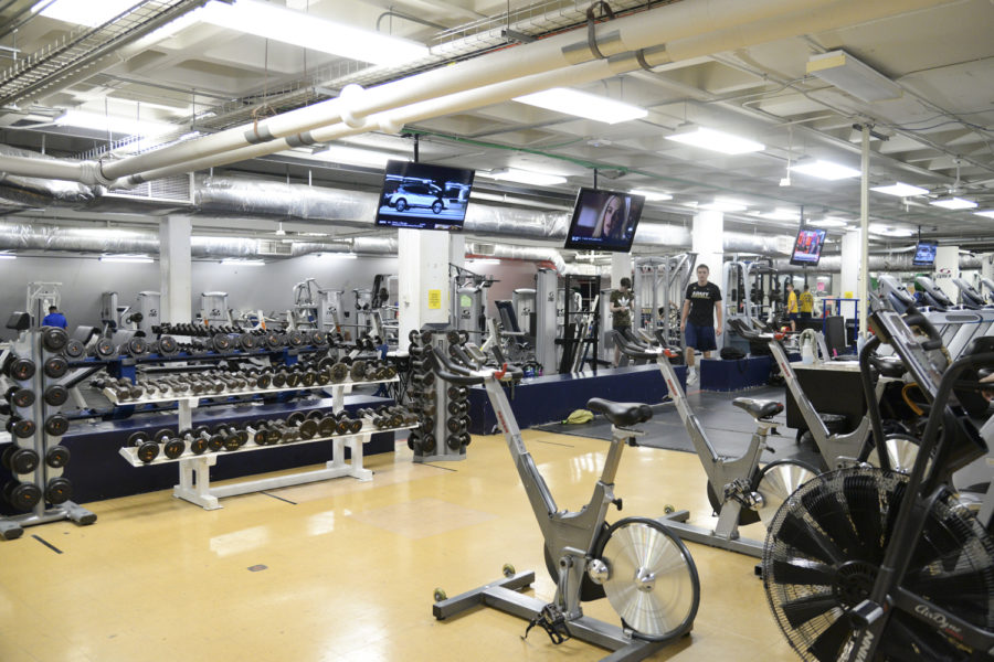Some+gym+classes+have+resumed+in+person+with+modifications.+