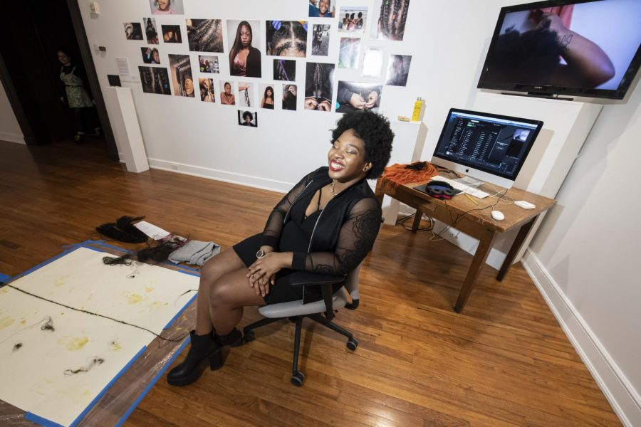 Brianna Mims will have two photographs from a larger series she worked on between 2018 and 2020 focused on natural hair on display as part of Brewhouse Gallery's new exhibit